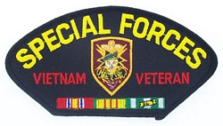 Special Forces Vietnam Veteran Patches